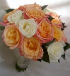 brides rose bouquet