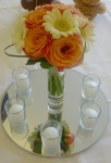table centre arrangement